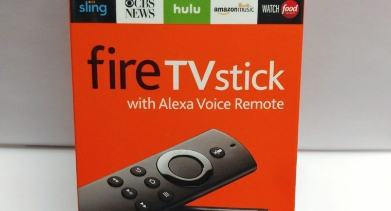 Amazon Fire TV Stick (2nd Generation) with Alexa Voice Remote Media Streamer NEW (Jailbroken)
